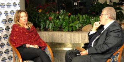 Giorgia Meloni e Pasquale Motta