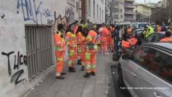 Cosenza, 118 a rischio. Protesta davanti all'Asp con sirene spiegate