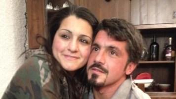 Gattuso con la sorella Francesca