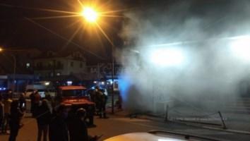 Incendio a Serra San Bruno