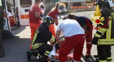 Incidente a Davoli sulla 106
