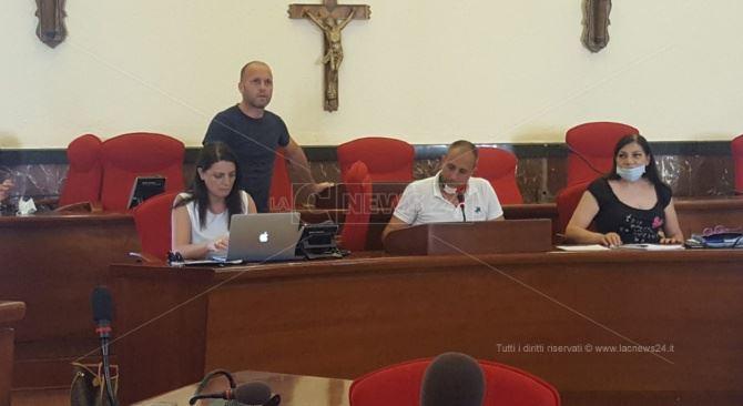 L'assessore Maria Teresa Nardo e il consigliere Nico Console