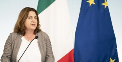 Il ministro del Lavoro, Nunzia Catalfo (foto Ansa)