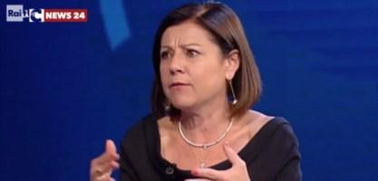 Il ministro Paola De Micheli a Porta a porta