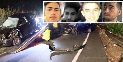 Un arresto per l'incidente di Rende in cui morirono quattro giovani: in carcere 33enne