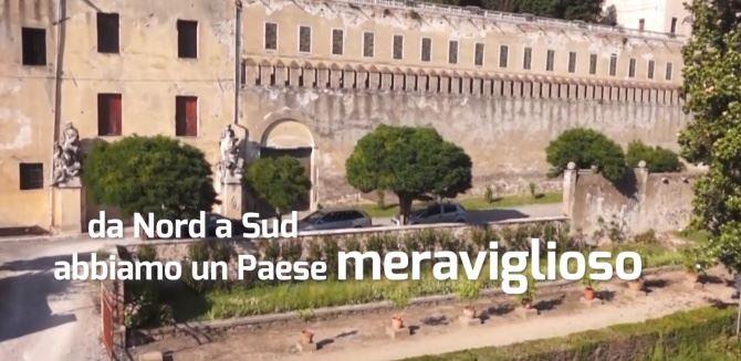 Un frame del video realizzato dal Consorzio Terme Colli