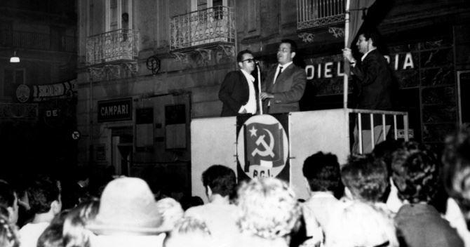Una foto storica dell'elezione di Tripodi tratta dalla pagina fb della Fondazione