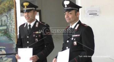 Polistena, salvarono bimbo durante lockdown: encomio per 2 carabinieri