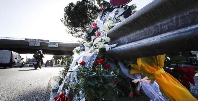 Corso Francia, luogo del tragico incidente dove hanno perso la vita Gaia e Camilla