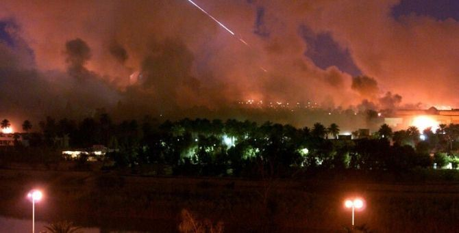 Missili su basi Usa in Iraq