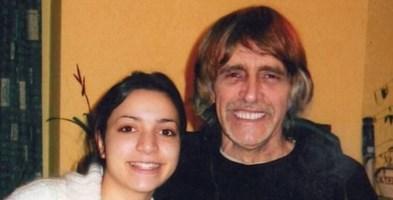 Da sinistra Meredith e il padre John Kercher