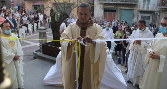 La riapertura della chiesa di San Pietro Lametino