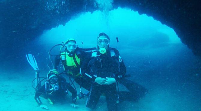 Immersioni nelle acque del Vibonese