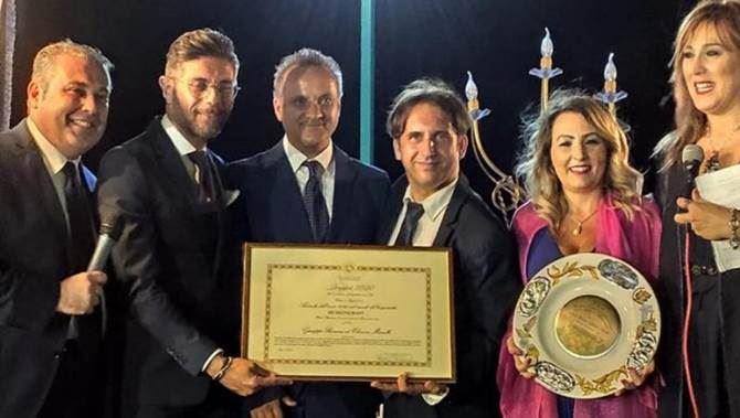 La premiazione a Reggio Calabria