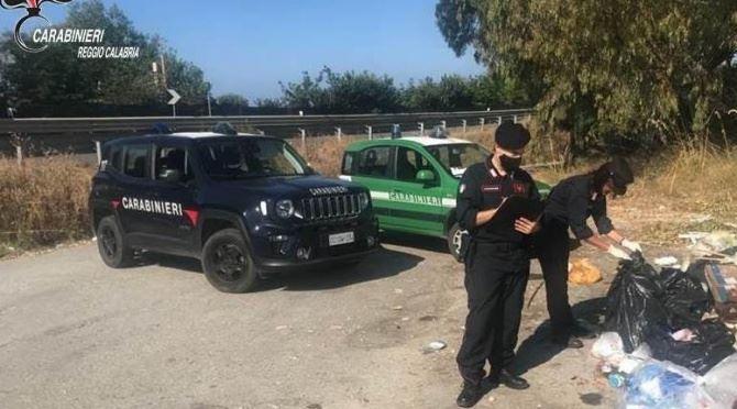 I carabinieri individuano tre discariche abusive a Palizzi
