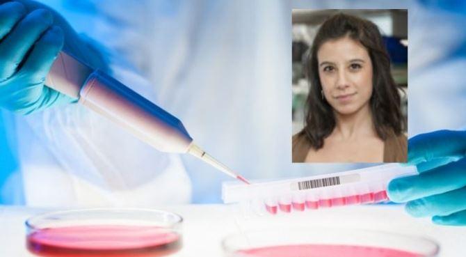 La giovane ricercatrice Sandra Misale