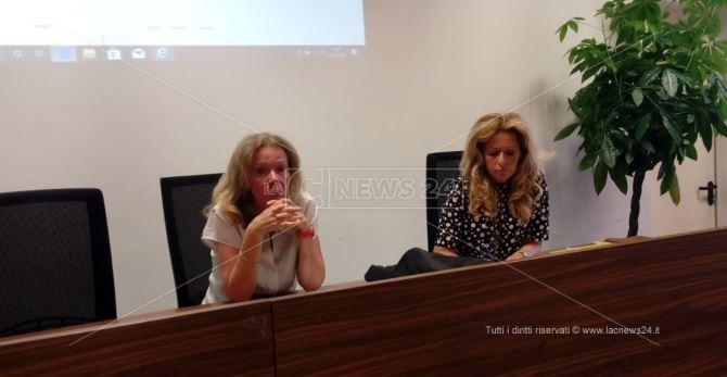 L'assessore Savaglio e Perani, dirigente settore Istruzione Regione Calabria