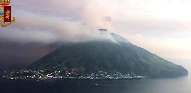 Il vulcano Stromboli