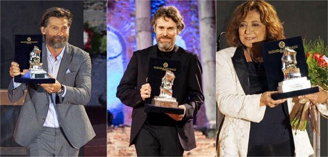 Nikolaj Coster-Waldau, Willem Defoe e Laura Delli Colli