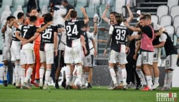 I festeggiamenti della Juventus, foto dalla pagina fb della squadra