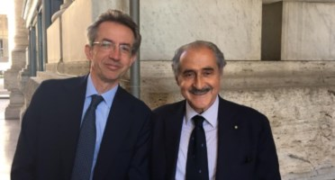 Il ministro Manfredi e il presidente Soriero