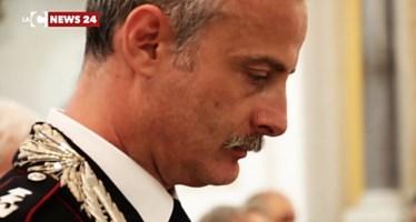 Il tenente colonnello Luca Romano