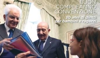 Il presidente Mattarella insieme al presidente Unicef Samengo