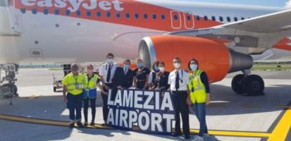 Il primo volo da Ginevra a Lamezia