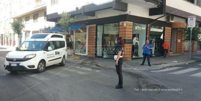 Incidente a Cosenza