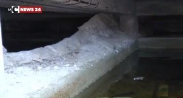 Case popolari immerse nell'acqua nel Cosentino, l'ira dei residenti: «Non se ne può più»