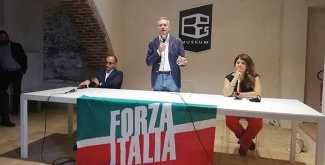 Da sinistra: Antonio De Caprio, Gianluca Gallo e Fulvia Caligiuri