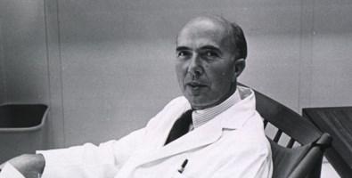 Il premio Nobel Renato Dulbecco