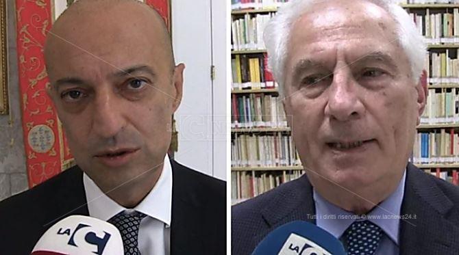 Andrea Urbani e Massimo Scura