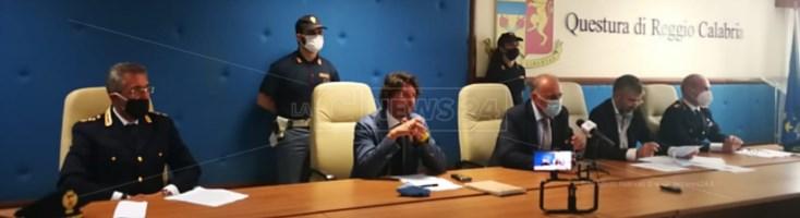 Conferenza stampa dell'operazione Koleos