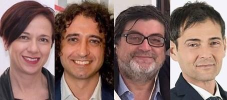 I parlamentari 5 stelle Granato, Parentela, D'Ippolito, Sapia