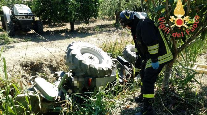 Incidente sul lavoro a Cassano