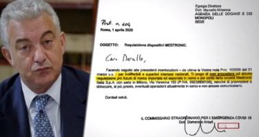 «Superiori interessi nazionali» dietro lo stop del commissario Arcuri ad alcune requisizioni