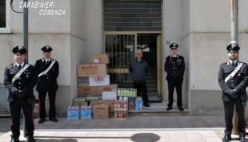 La donazione di alimenti di prima necessità