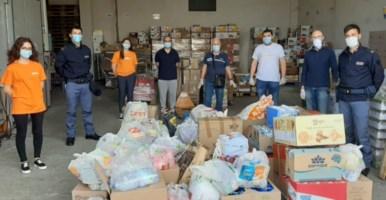 La donazione della Polizia di Reggio Calabria