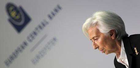La presidente della Bce Christine Lagarde - foto Ansa