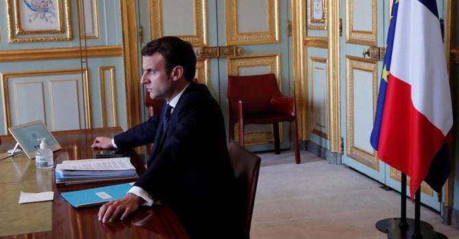Macron, foto Ansa