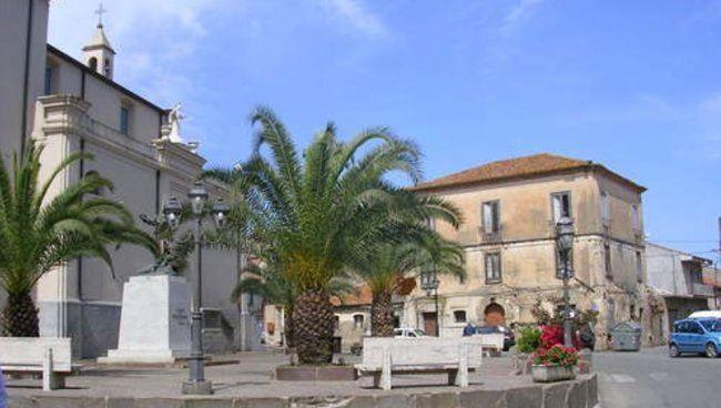 Piazza Vittorio Emanuele a Rizziconi
