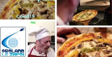 "Video choc di una tv francese, polemiche per la satira sulla ""pizza al coronavirus"""