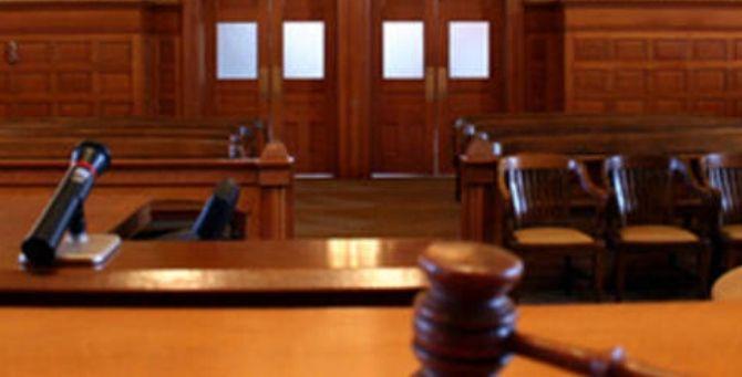 Tribunale vuoto - Foto di Adnkronos