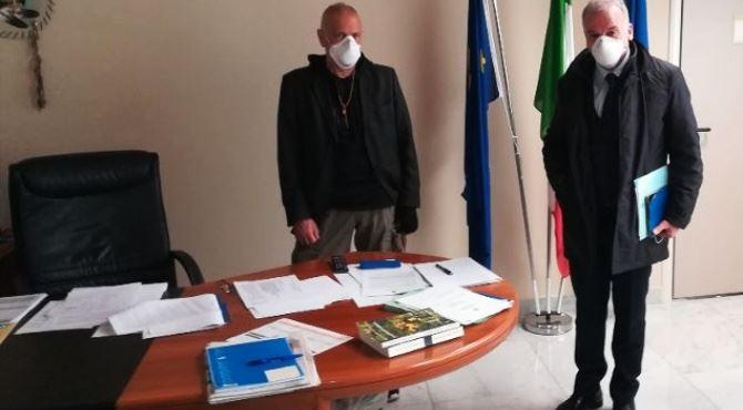 L'assessore De Caprio e il presidente del consiglio regionale Tallini