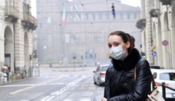 Inquinamento e coronavirus, foto ansa