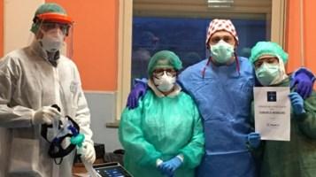 Mendicino, donato un ventilatore polmonare all'ospedale di Cosenza