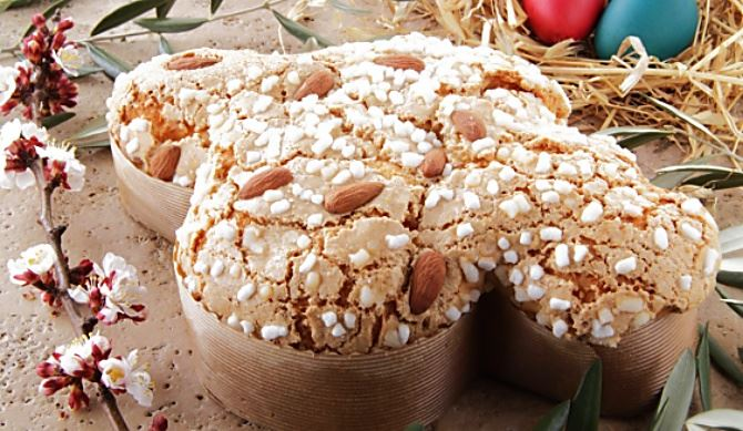 Colomba pasquale, foto food blog
