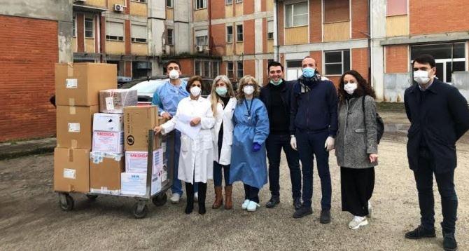 Donazioni all'ospedale di Gioia Tauro