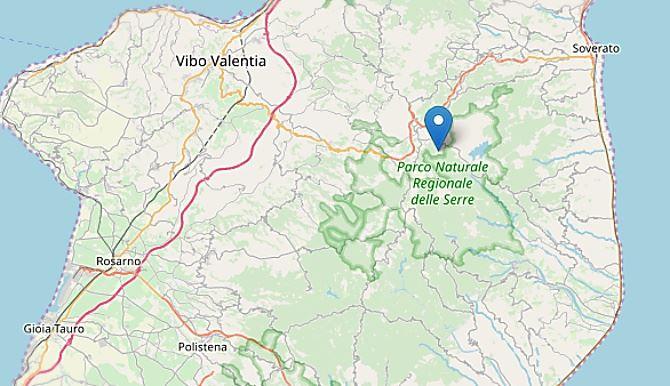 Terremoto nel Vibonese, epicentro Brognaturo